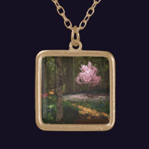 Cherry Tree Concerto Necklace