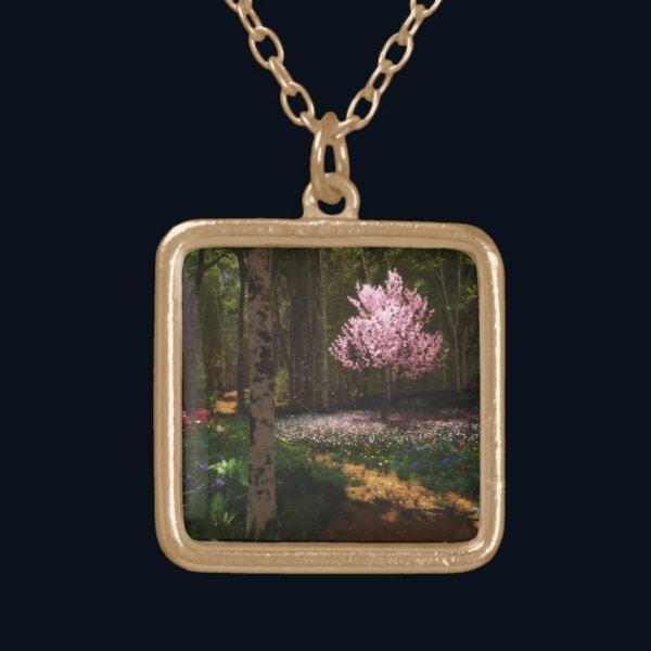 Cherry Tree Concerto Necklace