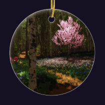 Cherry Tree Concerto Ornament