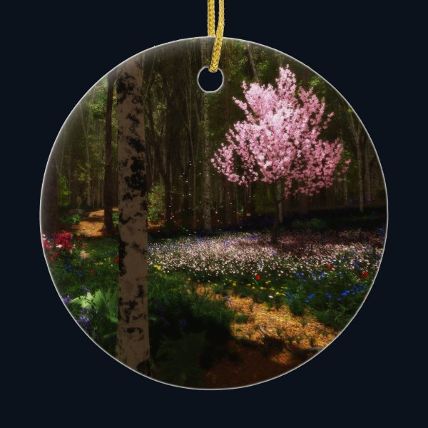 Cherry Tree Concerto Ornament