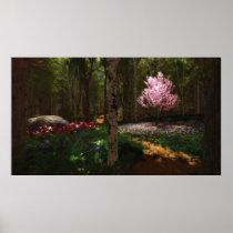 Cherry Tree Concerto Print