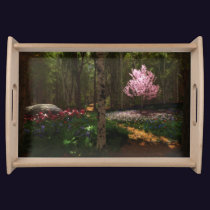 Cherry Tree Concerto Serving Tray