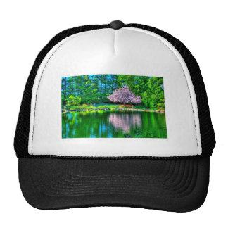 Cherry Tree Trucker Hats