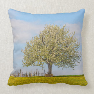 Cherry Tree In Spring Pillow