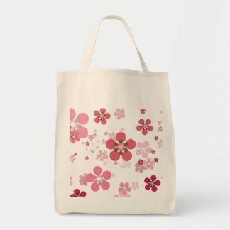 Cherry tree spring tote bag