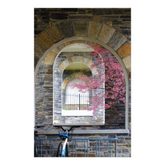 Cherry Tree Through The Arches Stationery