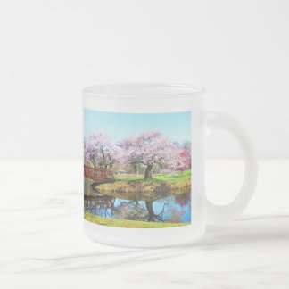 Cherry Trees in the Park Coffee Mug
