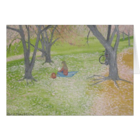 Cherry Trees - The Reader Card