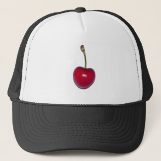 Cherry Trucker Hat