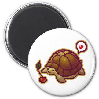 Cherry Turtle Fridge Magnet