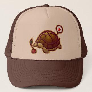 Cherry Turtle Trucker Hat