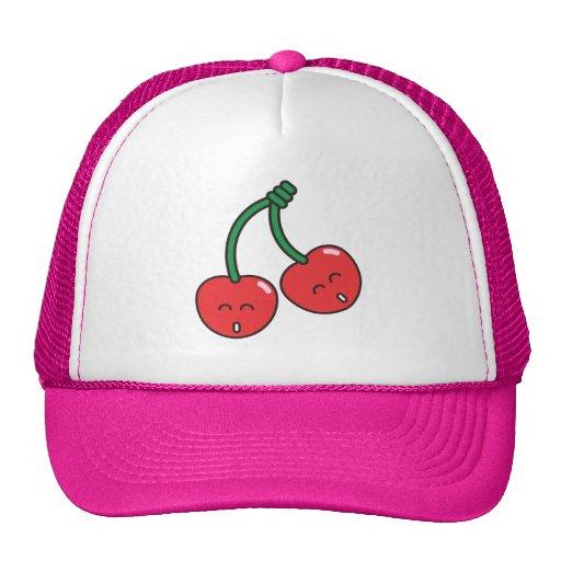 Cherry Twins Trucker Hat