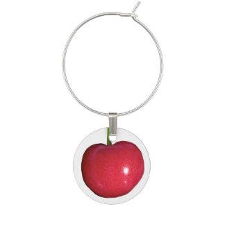 Cherry Wine Glass Charm