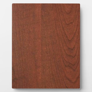 CHERRY WOOD finish BUY blank blanche add TEXT IMG Photo Plaques