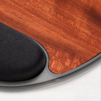 Cherry Wood Gel Mouse Pad