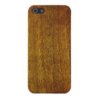 Cherry Wood Grain Cover For iPhone SE/5/5s