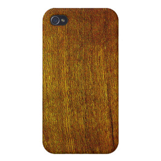 Cherry Wood Grain iPhone 4 Cover