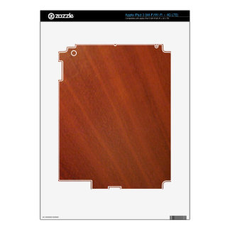 Cherry Wood iPad 3 Decal