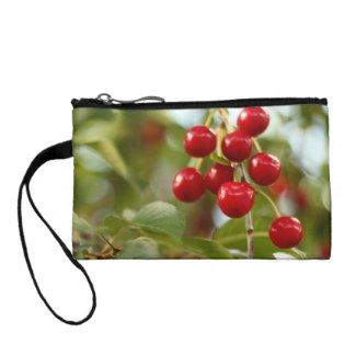 Cherry Wristlet