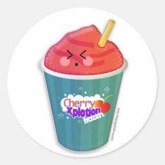 Cherry xplotion frozen stickers