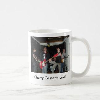 ¡cherrycassette, casete de la cereza vivo! taza de café