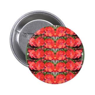 CherryHILL Flower Show Row Garland NVN218 NavinJOS Pinback Button