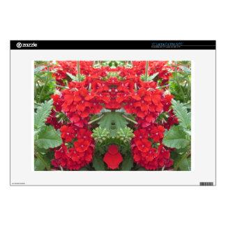 "CherryHILL FUN Flower Bouquet NVN219 NavinJOSHI Decals For 15"" Laptops"