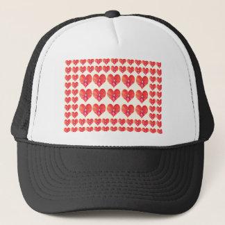 CherryHILL fun HEARTS Show LOVE NVN221 NavinJOSHI Trucker Hat