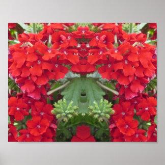 CherryHILL Honeymoon RED Flowers NVN230 NavinJOSHI Print