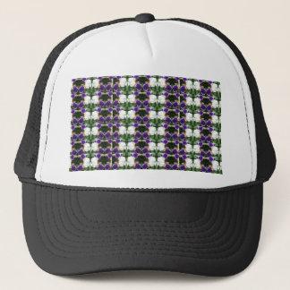 CherryHILL Purple Flower Pattern NVN220 NavinJOSHI Trucker Hat