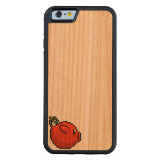 CherryPig on CherryWood Carved® Cherry iPhone 6 Bumper