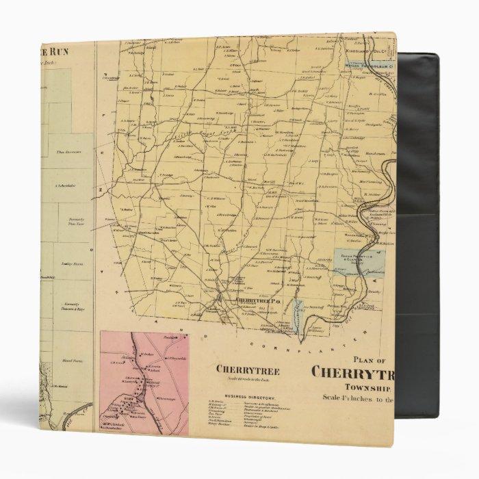 Cherrytree Township 3 Ring Binder