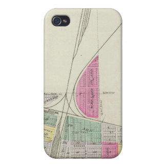 Cherryvale, el condado de Montgomery, Kansas iPhone 4 Carcasas