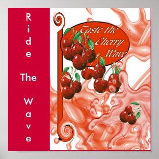 Cherrywave, RideTheWave Poster