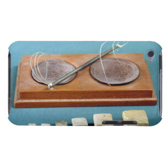Chert weights and copper balance, Mohenjodaro, 230 Barely There iPod Case