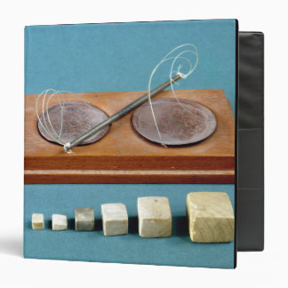 Chert weights and copper balance, Mohenjodaro, 230 Vinyl Binder