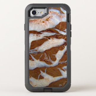 Chert with Quartz Vein Rock Texture Print OtterBox Defender iPhone 8/7 Case