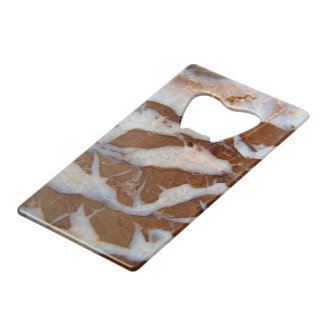 Chert with Quartz Veins Credit Card Bottle Opener
