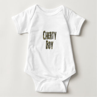 Cherty Boy Baby Bodysuit