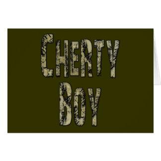 Cherty Boy Card