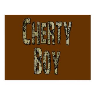 Cherty Boy Postcard