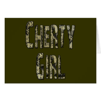 Cherty Girl Card