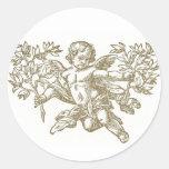 Cherub Amgel <white> Envelope Sticker