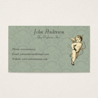 Cherub and Wallpaper Business Card