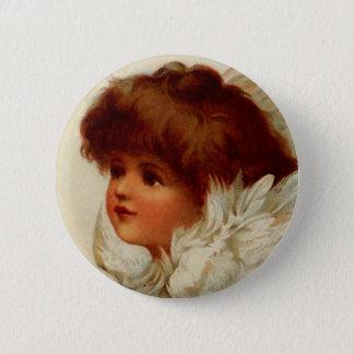 Cherub Angel Button