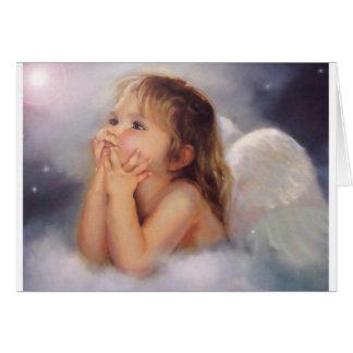 Cherub Angel Greeting Card