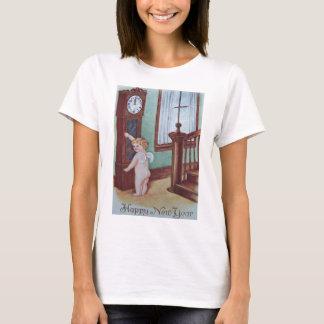 Cherub Angel Cupid Grandfather Clock T-Shirt