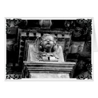 Cherub Angel Gothic Victorian Card