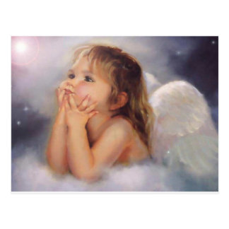 Cherub Angel Postcard
