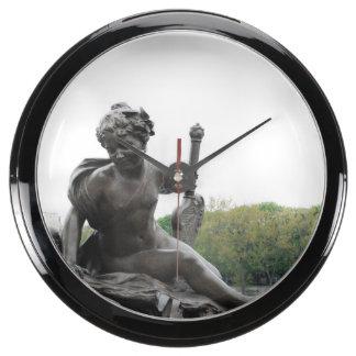 Cherub Angel Statue in Paris Aquarium Clock